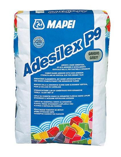 Poza cu Adeziv gresie portelanata Adesilex P9 gri