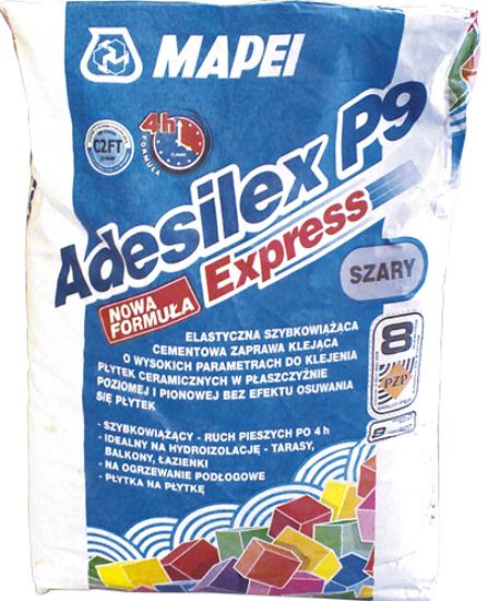 Imagine Adeziv pentru gresie si piatra naturala Adesilex P9 Express gri