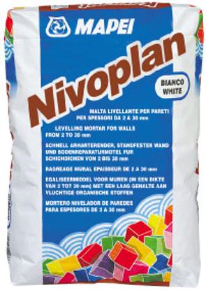 Imagine Mortar alb pt tencuiala Nivoplan