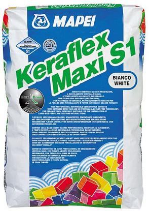 Poza cu Adeziv flexibil pt placi mari Mapei Keraflex Maxi S1 alb
