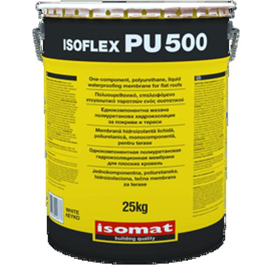 Poza cu Hidroizolatie lichida poliuretanica pentru terase ISOMAT ISOFLEX-PU 500 6kg