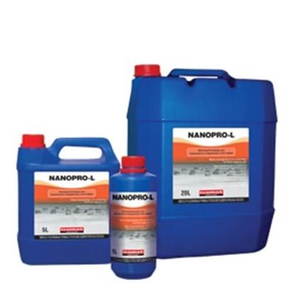 Poza cu Impregnant pentru protecţia suprafeţelor împotriva uleiurilor ISOMAT NANOPRO-L la 5 litri