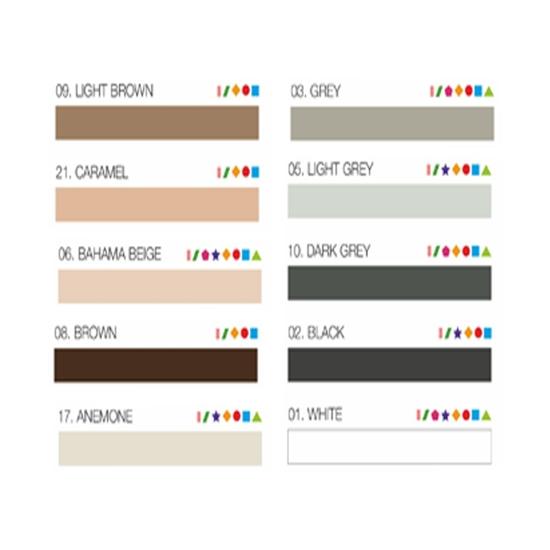 Poza cu Mastic color pentru rostuirea plăcilor MULTIFILL-ELASTIC  280 ml